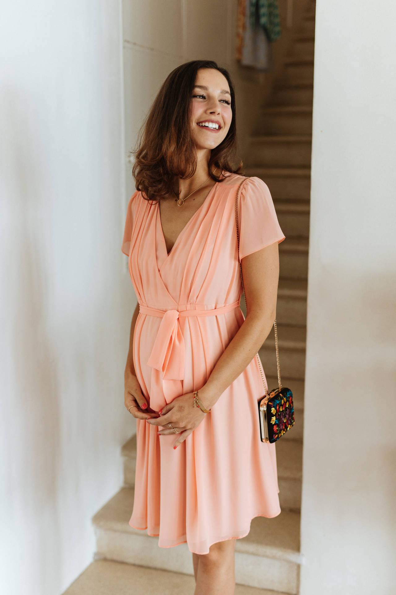 Robe Sylvia rose doux (2)